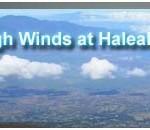 Wind Advisory Haleakala Summit 10a-midnight 1/10/11