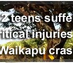 Two Kihei teens in critical condition following Waikapu crash