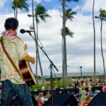 The MACC is pleased to present the 19th Annual Ki Ho 'alu Slack Key Guitar Festival on June 27 with a great lineup of 15 musicians, a guitar exhibit, island crafters and lots of great food.  Photo courtesy the Maui Arts & Cultural Center.