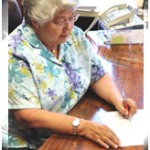 Maui Mayor Charmaine Tavares signing Cell phone driving ban legislation.  Photo courtesy: County of Maui.