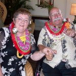Marie Osaka (L) and Marvin Paularena were honored as Maui County's 2010 Outstanding Older Americans.  Photo courtesy County of Maui.