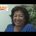 Click image to view VIDEO of our interview with Makawao Council candidate Leona Bak Nomura.