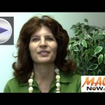 Click image to view VIDEO of our interview with District 11 State House candidate Netra Halperin.