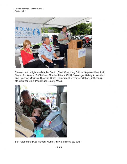 Maui Car Seat Laws