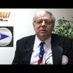 "Click image to view VIDEO of our interview with mayoral candidate Harold ""Hap"" Miller."