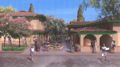 Architectural rendering of Paia's Heritage Hall.  Courtesy state Department of Health and Munekiyo & Hiraga.
