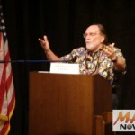 File image from 2010 Democratic Gubenatorial Town Hall Maui meeting in Wailuku.  Photo by Wendy Osher.