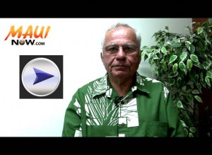 Click image to view VIDEO of our Candidate Profile segment with Norman Vares, candidate for County Council, South Maui.