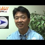 Click image to view VIDEO of our MauiNOW interview with District 4 State Senate (incumbent) candidate Shan Tsutsui.