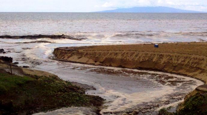 Photo courtesy County of Maui - Kamaole II Beach, Kihei, October 1, 2010.
