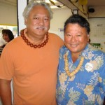 Sol Kahoohalahala and Alan Arakawa.  Courtesy photo.