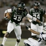 Green's 327-yard outburst lifts Hawaii to No. 25