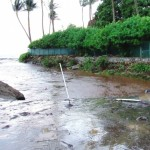 December 26, 2010 flooding on South Kihei Road. Photo courtesy County of Maui.