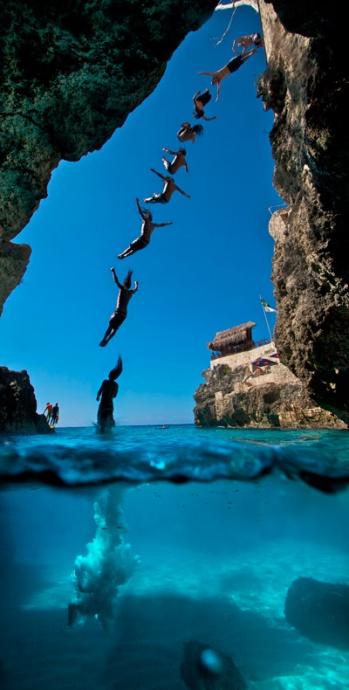 Maui now cliff dive into the deep blue - Highest cliff dive ...