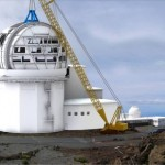 ATST Solar Telescope Construction Rendering.  Courtesy: Ruth Kneale, Systems Librarian.