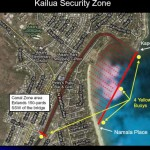 Click on image to enlarge. Kailua Security Zone.