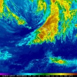 Radar image January 10, 2011.  Courtesy National Weather Service. Click image to enlarge.