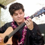 Jeff Peterson at the Maui Slack Key Guitar Festival. Photo courtesy MACC.