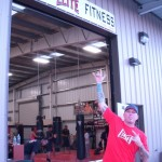Doyle in front of Maui Elite Fitness