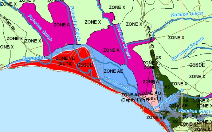 Maui Now New Flood Maps For Maui County To Be Discussed Feb - National flood zone map