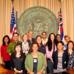 The Ka Ipu Kukui Fellows Class of 2009 (Photo Courtesy of Katie McMillan)