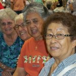 Kupuna enjoying the MCOA Senior Fair 2010. Photo by Robin Pilus.