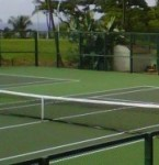 Makena Tennis Club Grand Re-Opening Feb 20, 2011 featuring 6 newly paved plexi courts.