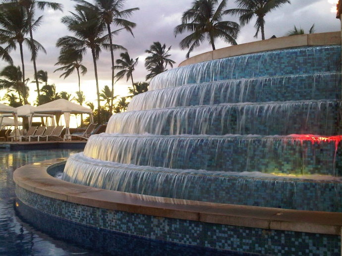 Grand Wailea fountain. File photo by Wendy Osher.