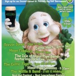 Mulligan's on the Blue is throwing its 10th annual St. Patrick's Day celebration in Wailea this Thursday.