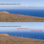 Auwahi Wind Project simulated view by Tetra Tech EC, Inc., courtesy Draft EIS. File photo.
