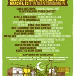 First Friday Poster for March 2011.  Click image to enlarge.