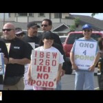 VIDEO: 200 MECO Union Employees Walk the Picket Line