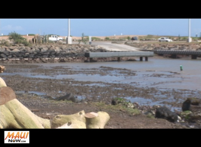 Tsunami effects at Kahului Harbor, File image March 11, 2011. By Wendy Osher.