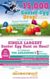 Egg Drop Event Poster