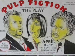 Pulp Fiction play at I'ao Theatre, Wailuku