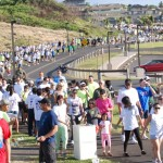 With 1,000 walkers last year, Visitor Industry Charity Walk on Maui raised more money than Oahu, who had 6,000 walkers. Photo courtesy of Carol Reihman, president, Maui Hotel & Lodging Assoc.