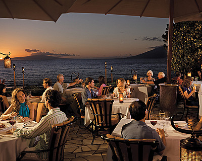 Ferraro's Bar e Ristorante in Wailea features al fresco dining in Maui. Photo courtesy of Ferraro's Bar e Ristorante.