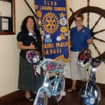 Ann Neizman and Karen Kondo are among those helping to organize the Rotary's West Maui Safety Fair.