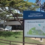 University of Hawai'i at Maui College Photo by Kristin Hashimoto
