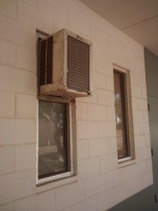 Air conditioning unit at UHMC