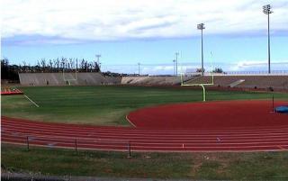 War Memorial Football Stadium. Courtesy of County of Maui.