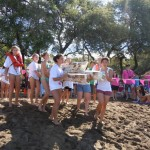 Seabury Hall High School to the start line of the 7th Annual Meadow Gold Milk Carton Regatta.