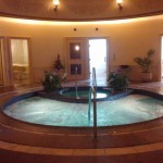 Just one of the Spa Grande's hydrotherapy pools, Photo by Kristin Hashimoto