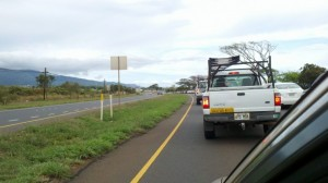 mokulele highway traffic jam