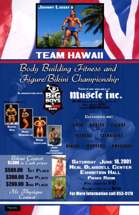Miss MMA Hawaii Search Poster