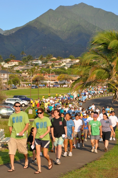 2011 Maui Visitor Industry Chairty Walk, courtesy file photo.