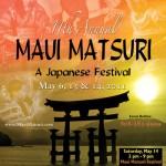 Maui Matsuri event poster