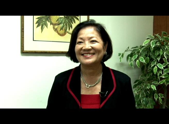 Congresswoman Mazie Hirono, file photo by Wendy Osher.