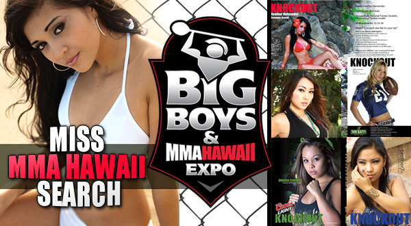 Miss MMA Hawaii Contest Poster