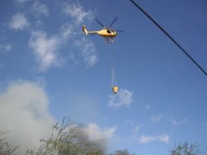 Maui Firefighting Chopper, fire helicopter, maui fire
